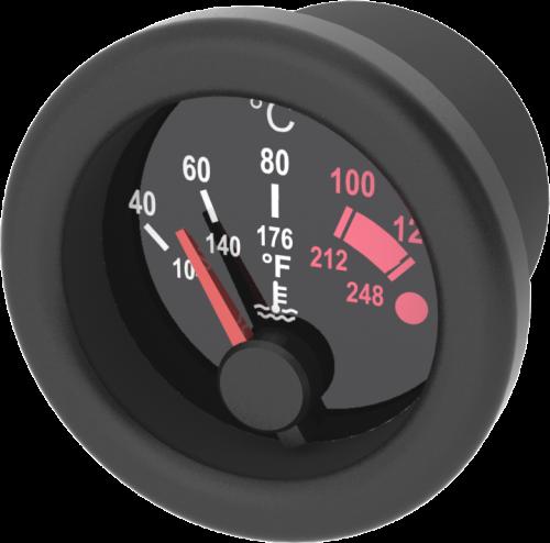 D52 H2O Temperature